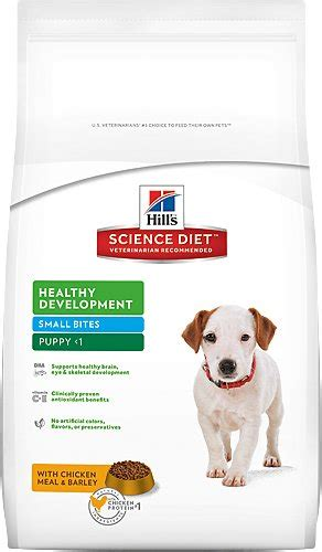 Science Diet Healthy Development Small Bites Puppy 3 Kg hill s science diet puppy healthy development small bites food 15 5 lb bag chewy