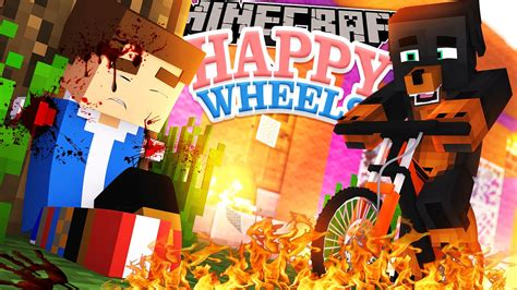 full download happy wheels the minecraft adventure minecraft happy wheels donut s house is destroyed