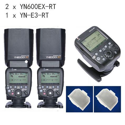 Yongnuo Yn600ex Yn 600ex Yn 600 Ex Rt Second 2 pz yongnuo yn600ex rt speedlite istantaneo per canon come canon 600ex rt yn e3 rt elettronico