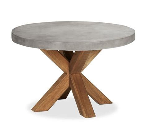 60 inch concrete table abbott dining table huntington chair set pottery