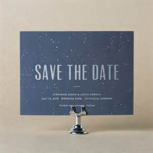 Save The Date Wording Letterpress Foil Stamped Save The Dates From Bella Figura