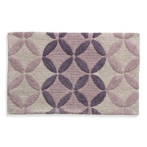 Purple Bath Rugs Purple Monochromatic Circle Bath Rug Bed Bath Beyond