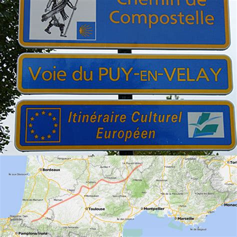 la via podiensis le chemin du puy en velay sports loisirs