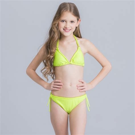 nice halter children girl bikini swimwear irder