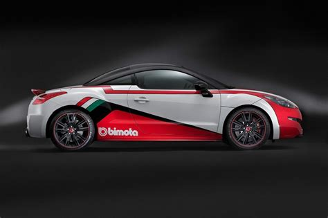 peugeot rcz r modified peugeot rcz r bimota is fwd car pornography from france