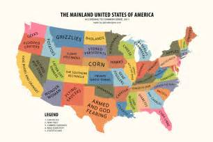 www united states maps satirical map collection