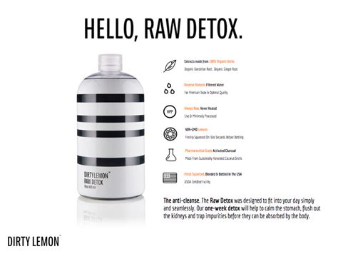 Does Rely Detox Work by Why Lemon Detox Is This Friday S Favorite
