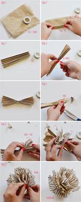 How To Make Crepe Paper Pom Poms - 5 diy tissue paper pom poms home design garden