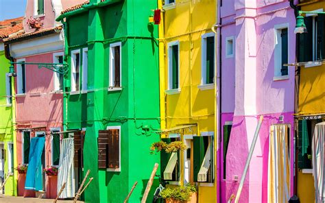 colored houses vibrantly colored houses hd wallpaper 509409