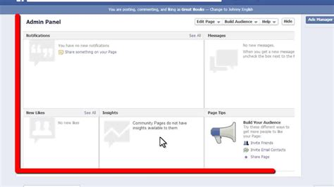 customize facebook fan page how to create a facebook fan page 9 steps with pictures