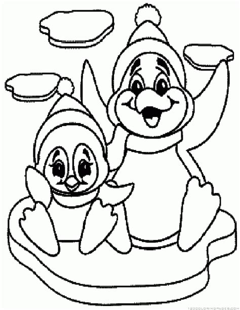 penguin chick coloring page penguin coloring pages