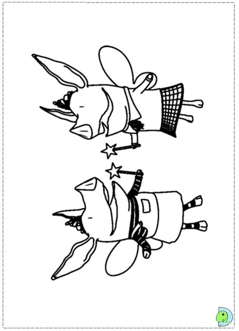 olivia pig coloring page olivia the pig coloring page az coloring pages