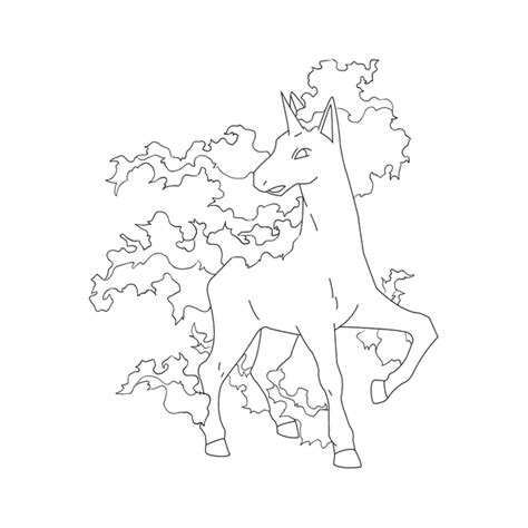 pokemon coloring pages rapidash free rapidash lineart by behindclosedeyes00 on deviantart