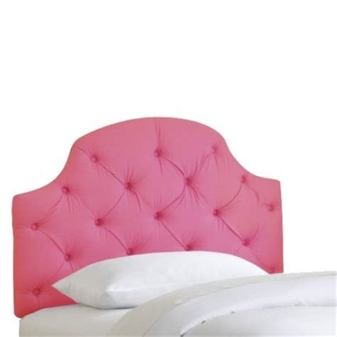 juliette tufted headboard pink headboard from target big girl room pinterest