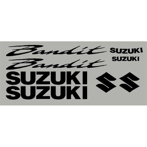 Suzuki Aufkleber by Aufkleber Suzuki Bandit