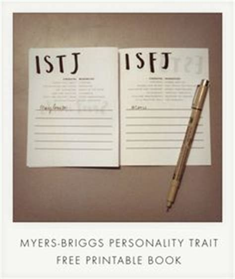 printable version of myers briggs 1000 images about myers briggs type indicator mbti on