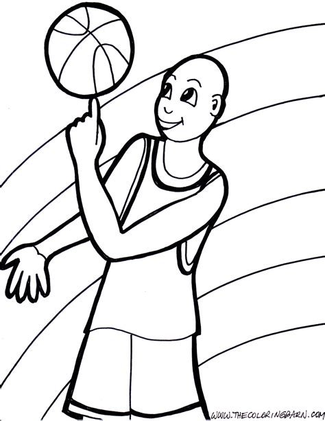 basketball coloring bing images
