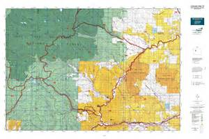 colorado unit map colorado gmu 25 map mytopo