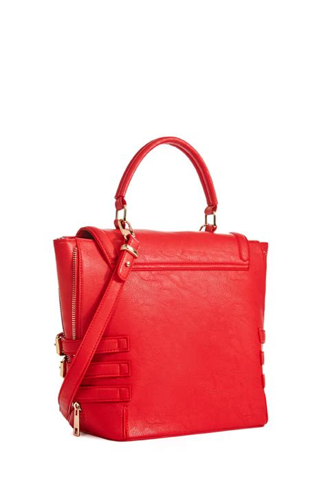 Daydream Bag by Daydream Bags In Cerise Get Great Deals At Justfab