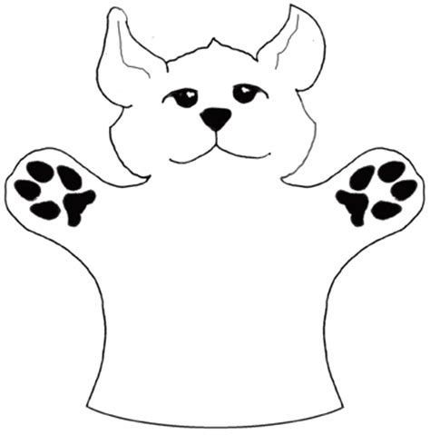 puppet show coloring sheets coloring pages