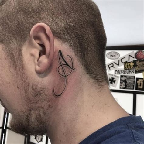 behind the ear tattoos for men 46 pretty the ear tattoos that will you