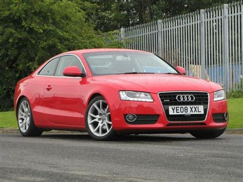 Audi A5 Coupe Rot by Used Audi A5 2008 Diesel 3 0 Tdi Quattro Sport Coupe