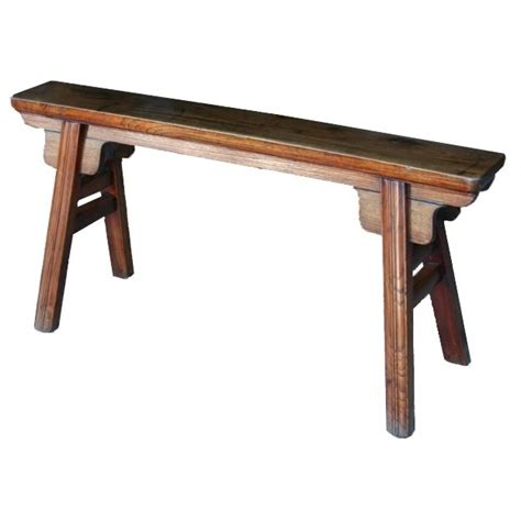 kung fu bench chinese chair