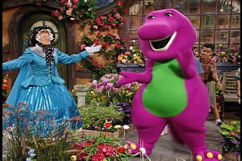Barney The Backyard Show Part 1 Barney S Rhyme Time Rhythm Barney Wiki Fandom Powered