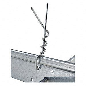 armstrong ceiling tile hanger wire 12 ft l pk140 52yx87