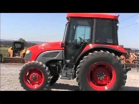 kioti dk65s 4x4 cab tractor 417hrs youtube