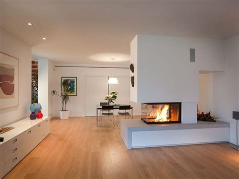 Kamine Als Raumteiler 708 by Caminetto Moderno Trifacciale New Home Fireplace