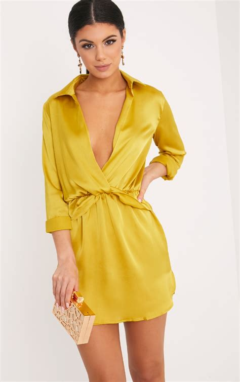 Be Bob Cut Mid Heels Gold anisha green premium embellished sequin bodycon dress
