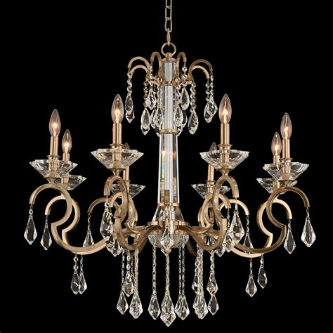 Brushed Gold Chandelier Allegri 031651 038 Fr001 Valencia Brushed Chagne Gold Chandelier Light All 031651 038 Fr001
