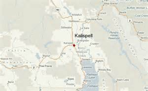 Kalispell Montana Map by Kalispell Location Guide