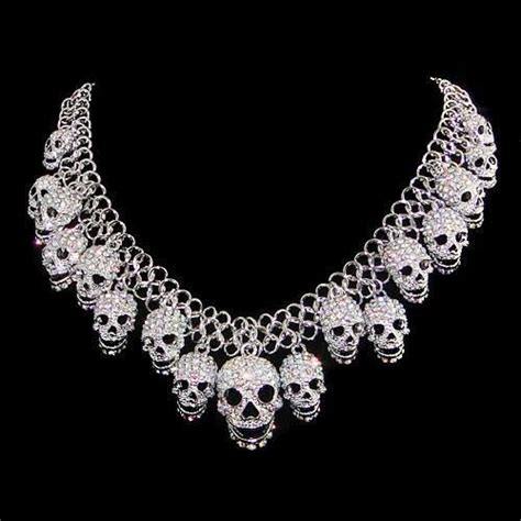 lots skull pendent necklace high quality