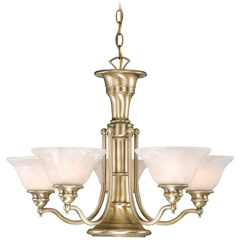 Antique Brass Lighting Fixtures Standford 6 Light Vaxcel Antique Brass Chandelier Ceiling Fixture L Ch30306a Ebay
