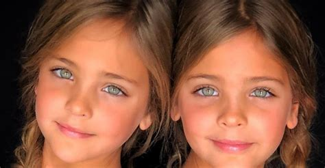 imagenes de gemelas terrorificas estas gemelas de 7 a 241 os son las nuevas ni 241 as m 225 s bonitas