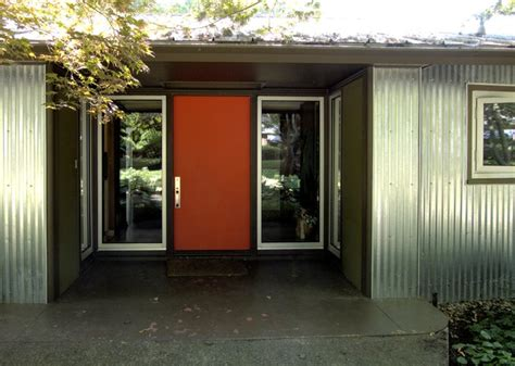 mid century entryway design front entry ideas 18 front door jpg midcentury entry by john prindle
