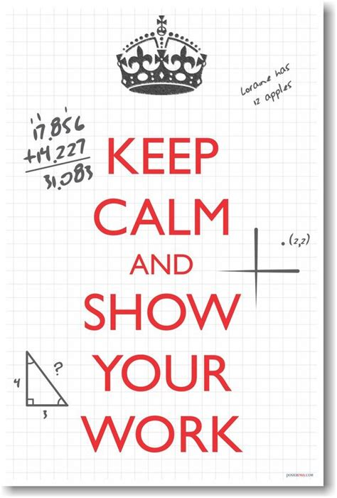 printable math quotes math poster math and keep calm on pinterest