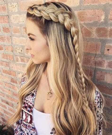 hairstyles ideas for long hair braids 15 inspirations of cute braided hairstyles for long hair