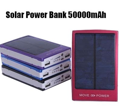 Power Bank Solar Samsung solar power bank 50000mah solar battery power bank new portable for cell phones samsung s3 s4