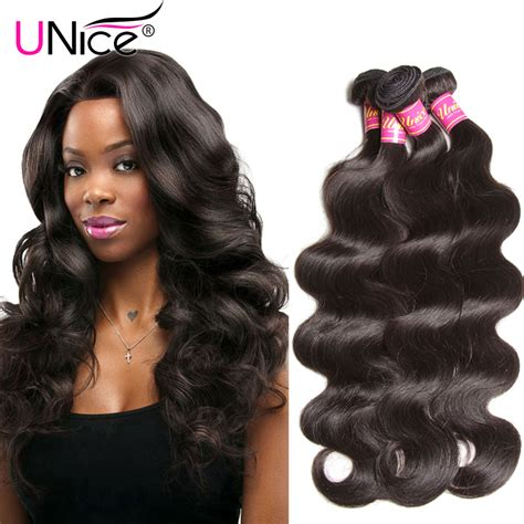 aliexpress unice hair aliexpress com buy unice hair brazilian body wave 7a