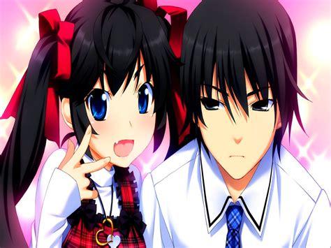 anime boy and girl best friends bakuon wallpaper wallpapersafari