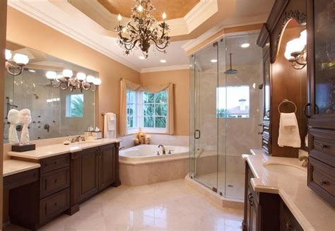 Traditional Bathrooms Ideas by 27 Gorgeous Bathroom Chandelier Ideas Designing Idea