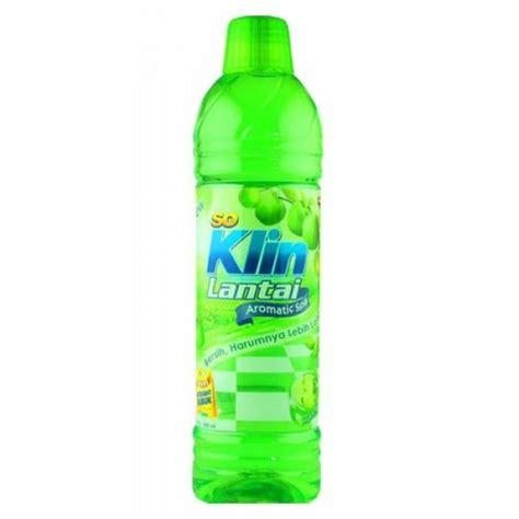 So Klin Pembersih Lantai 900ml jual so klin pembersih lantai fruity apple hijau muda botol 900 ml 1069360 harga