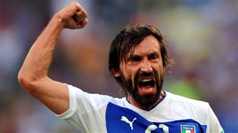 andrea pirlo i think andrea pirlo playing for italy is better than italian good news
