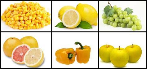 frutas y verduras frutas y verduras de color amarillo nutrevida y bienestar