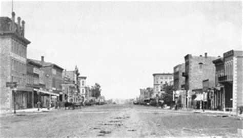 encyclopedia   great plains cities  towns
