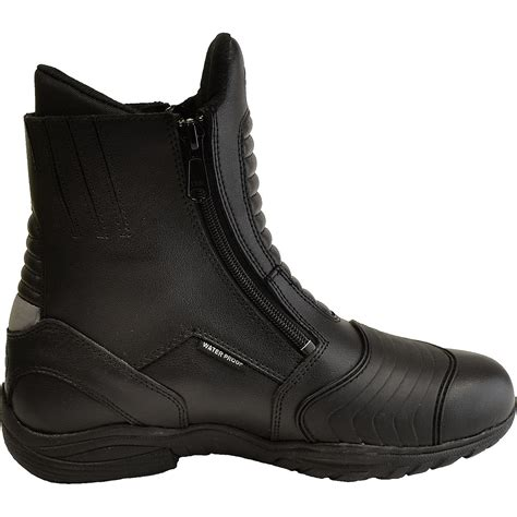 waterproof motorcycle touring boots oxford comanche short leather waterproof boots motorcycle