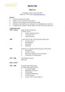 make a resume free sles of resumes
